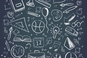 different-school-elements-chalkboard-style_23-2147774585